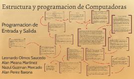 Copy of Estructura y programacion de Computadoras