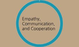 Empathy, Communication, and Cooperation
