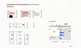 Laboratório de Programação para Artistas I
