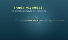 Terapia vivencial: