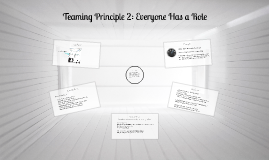 Teaming Principle 2: Everyone has a role