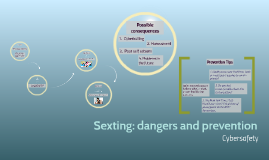 Sexting: dangers and prevention