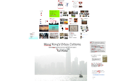 Hong Kong's Urban Cultures