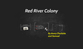 Red River Colony
