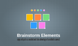 Copy of Brainstorm Elements
