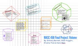 MASC Final Project: Volume