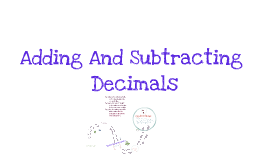 Copy of Adding and Subtracting Decimal Fractions