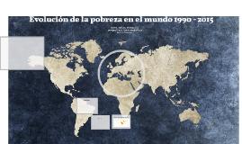 Evolución de la pobreza en el mundo