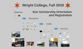 Wright College Star New Student Orientation and Registration, Fall 2018