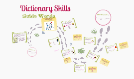 Dictionary Skills - Guide Words