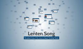 Lenten Song