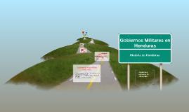 Gobiernos Militares de Honduras