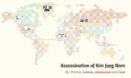Copy of Assassination of Kim Jong Nam