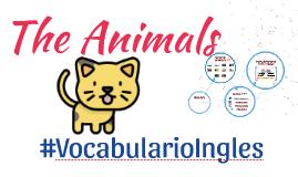 Vocabulario de los animales en ingles con imagenes