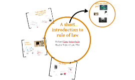 Short introduction to rule of law FBA-Zif Rule of law course 16 September 2013