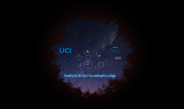 Reaching for the Stars: the cosmic path to college