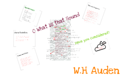Copy of O What Is That Sound