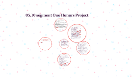 05.10 segment One Honors Project