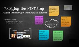 Bridging the NEXT Step