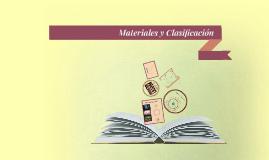 Materiales y Clasificación