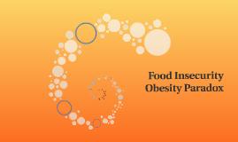 Food Insecurity Obesity Paradox