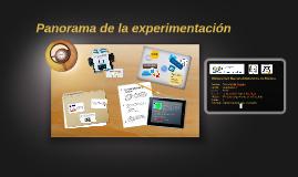 Panorama de la experimentacion