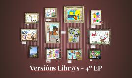 VersionsLibr@s - 4ºEP