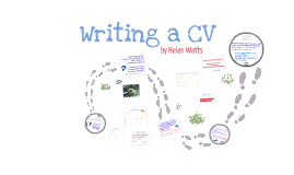 CV writing 2