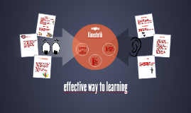 effective way to learning