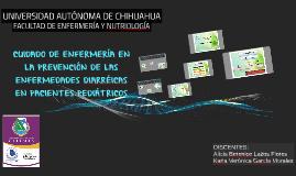 PREVENCIÓN Y ATENCIÓN DE LA DIARREA EN PACIENTES PEDIÁTRICOS