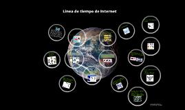 Linea de tiempo internet