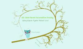 Copy of Parent Information Evening