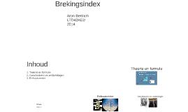 Brekingsindex