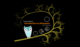Copy of Introduction to Halloween