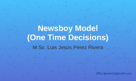 Copy of Newsboy - One Time Decisions