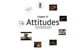 Consumer Behavior Ch 11 - Attitudes