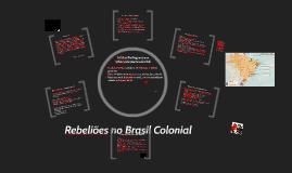 Rebeliões Coloniais Brasileiras