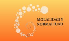 MOLALIDAD Y NORMALIDAD