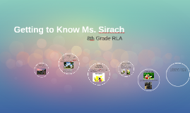 Getting to Know Ms. Sirach
