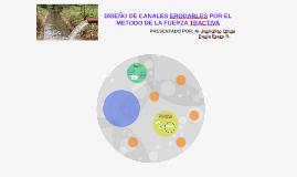Copy of DISEÑO DE CANALES ERODABLES POR EL METODO DE LA FUERZA TRACT