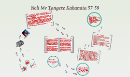 Copy of Noli Me Tangere Kabanata