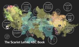 Scarlet Letter Alphabet Book