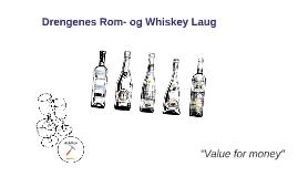 Drengenes Rom- og Whiskey Laug