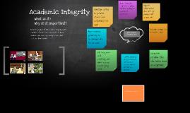 Copy of Academic Integrity