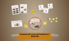 Proyecto del curso de Estadística I