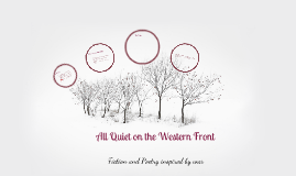 analytical essay on all quiet on the western front