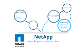 NetApp-Global Programs Marketing Intern
