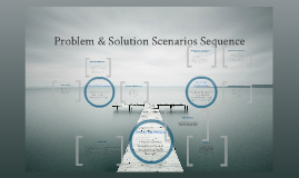 Problem & Solution Scenarios Sequence