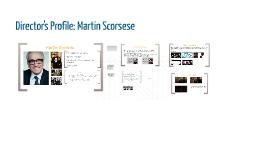 Director's Profile: Martin Scorsese