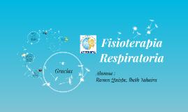 Copy of Fisioterapia Respiratoria